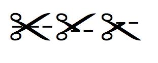 dotted line scissors clipart · cut out scissors clipart - PNG Scissors Cutting Dotted Line
