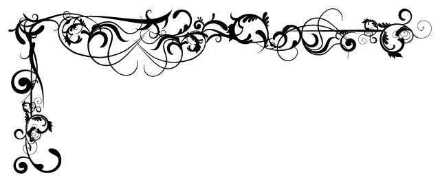 PNG Scroll Border - 86147