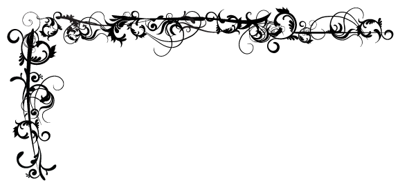 PNG Scroll Border - 86154