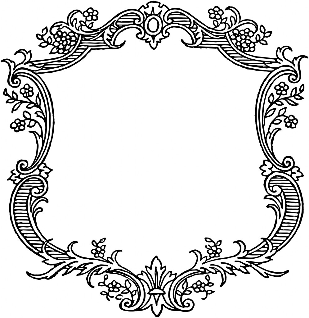 PNG Scroll Border Transparent Scroll Border.PNG Images. | PlusPNG