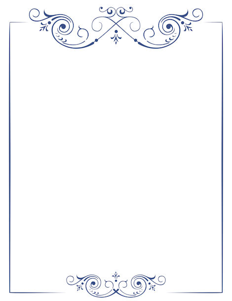 PNG Scroll Border - 86156