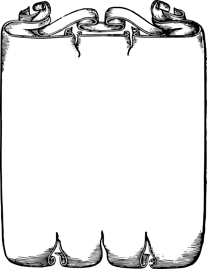 PNG Scroll Border