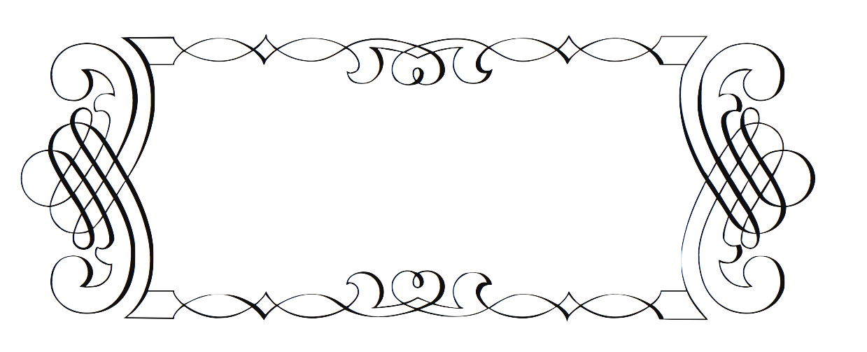 PNG Scroll Border - 86145