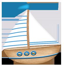 Sollten noch Fragen auftreten, schick mir eine Mail. - PNG Segelboot