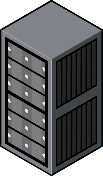 PNG: small · medium · large - PNG Server Rack
