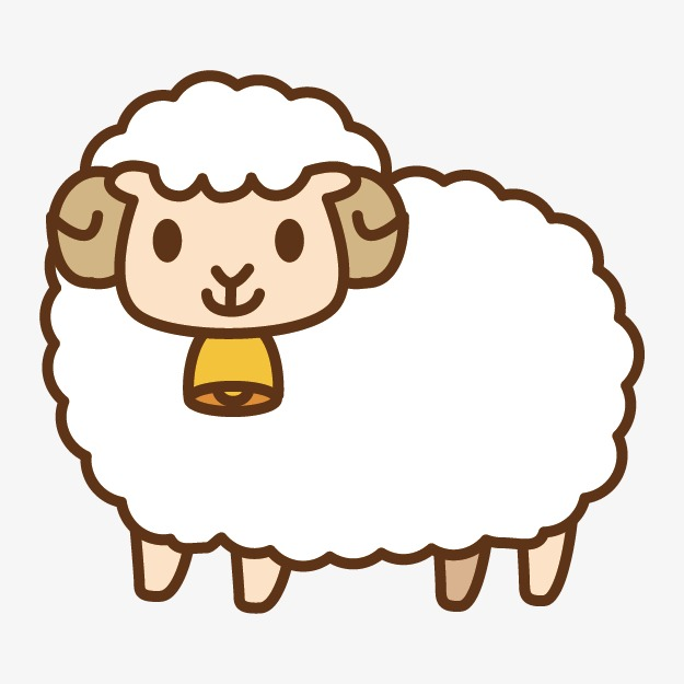Cartoon sheep, Sheep, Cartoon Free PNG Image - PNG Sheep Cartoon