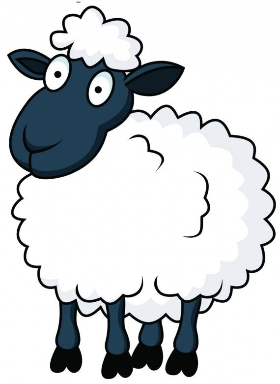 funny eid-ul-adha sheep cartoon picture 9 - PNG Sheep Cartoon