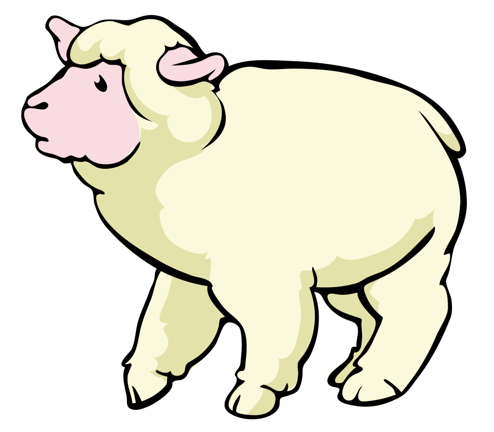 Open PlusPng.com  - PNG Sheep Cartoon