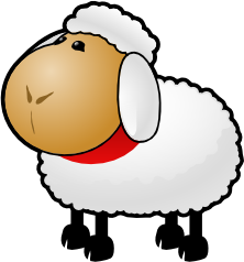 Cartoon sheep, Sheep, Cartoon