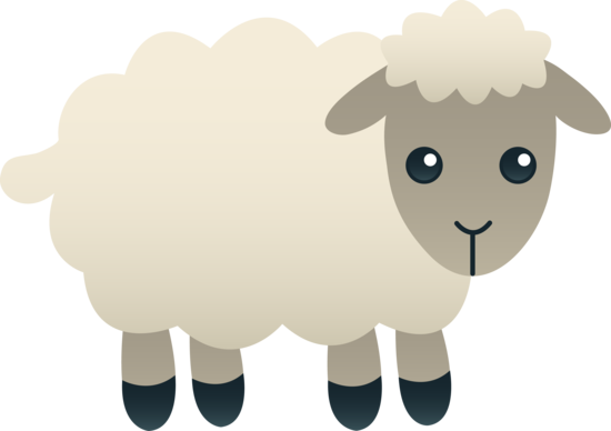 Sheep Clipart Images Pluspng - PNG Sheep Cartoon