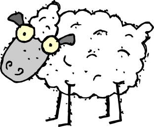 sheep google eyed cartoon - /cartoon/animals/sheep /sheep_google_eyed_cartoon.png.html - PNG Sheep Cartoon