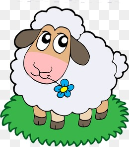 sheep, Sheep, Cartoon, Meadow PNG and Vector - PNG Sheep Cartoon
