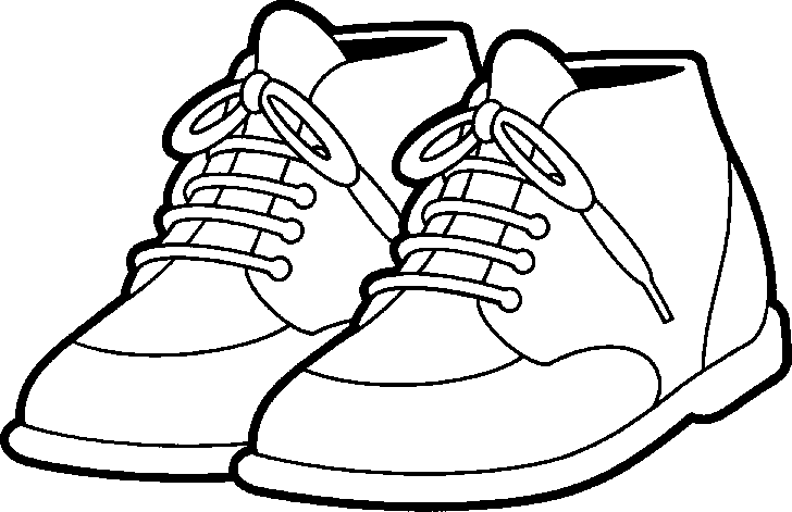 Free Shoe Clipart Pictures - PNG Shoes Black And White