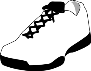 Shoe - PNG Shoes Black And White