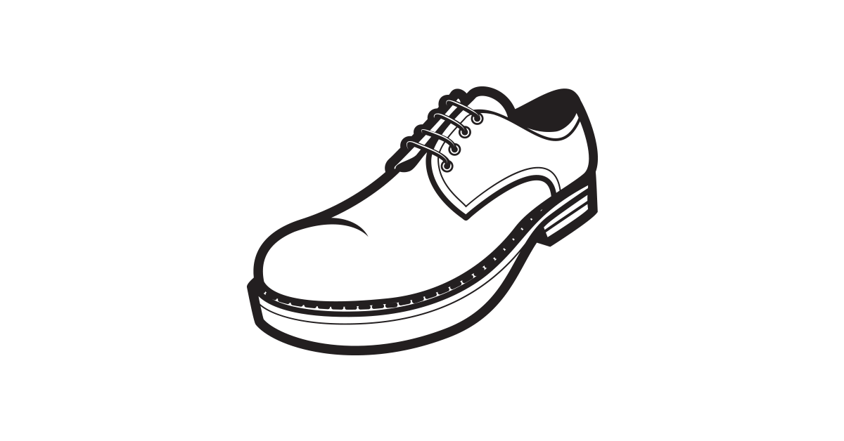 Vector Shoes PNG Clipart - PNG Shoes Black And White