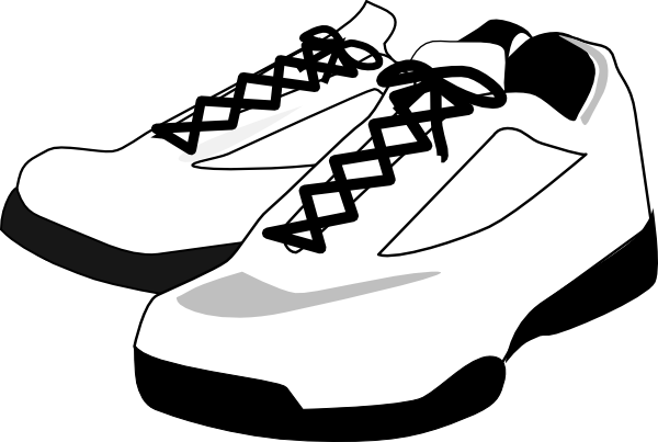 Vector Shoes Transparent PNG - PNG Shoes Black And White