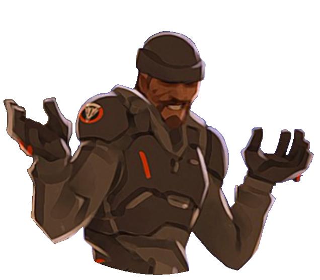 Reaper Spray - Shrug.png - PNG Shrug