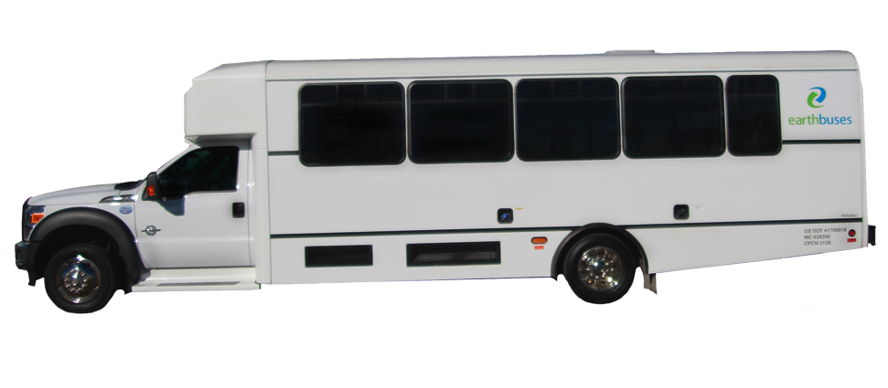 Earth Limos of LAS VEGAS 21-28 Passenger shuttle bus - PNG Shuttle Bus