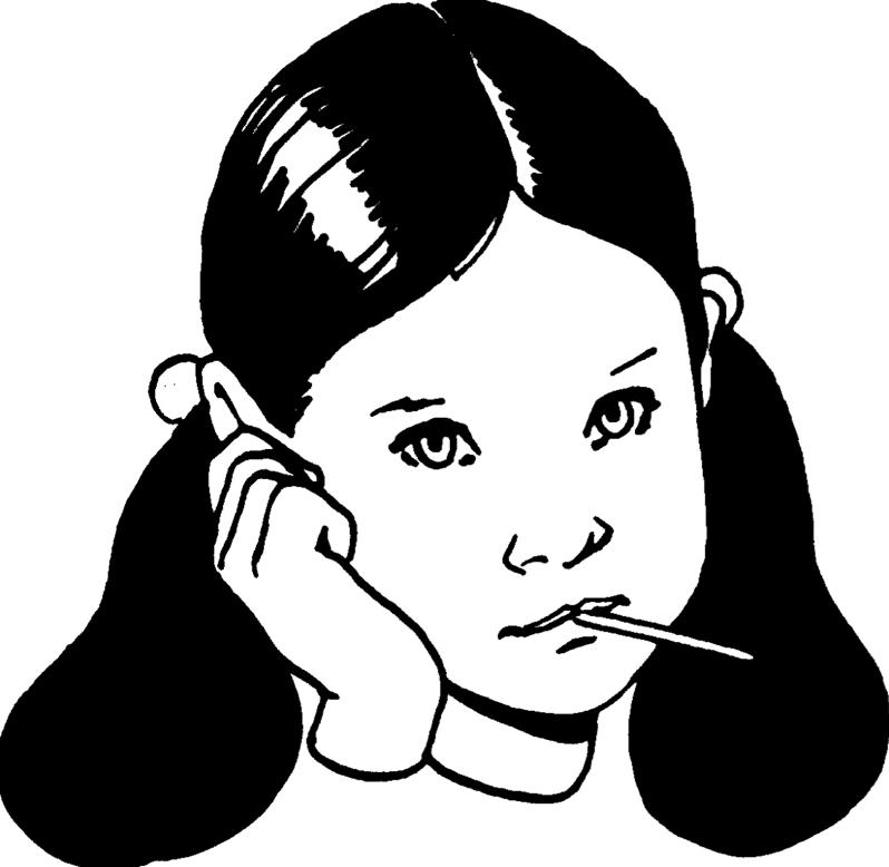 PNG Sick Girl - 84679
