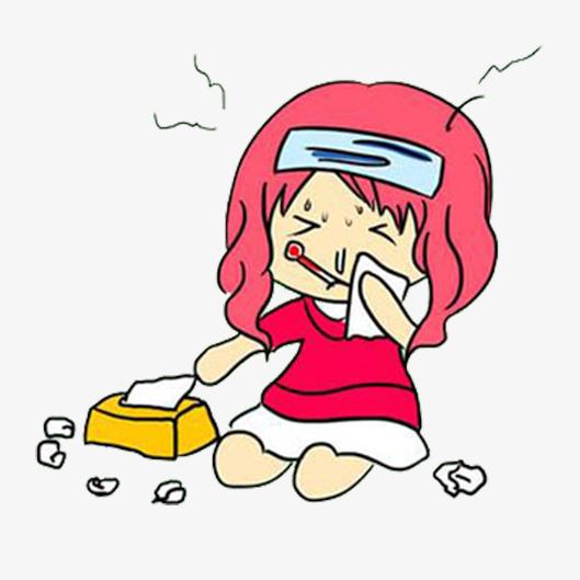 PNG Sick Girl - 84678