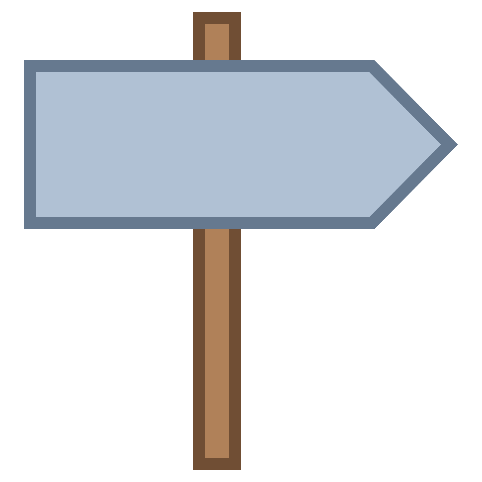 Signpost icon - PNG Signpost