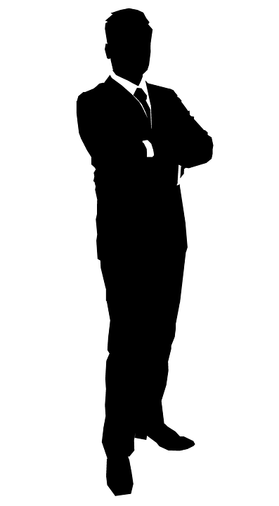 PNG Silhouette Man - 87365