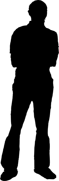 PNG Silhouette Man - 87371