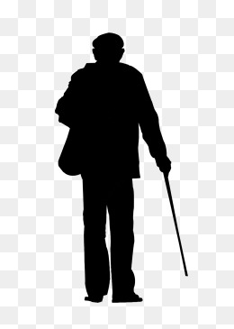 PNG Silhouette Man - 87368