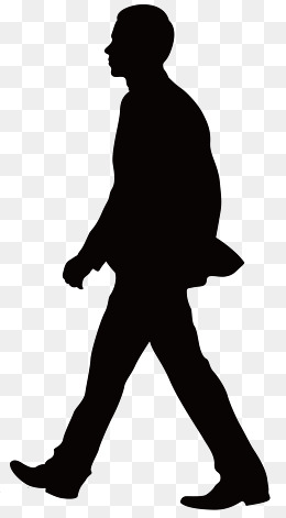 PNG Silhouette Man - 87359
