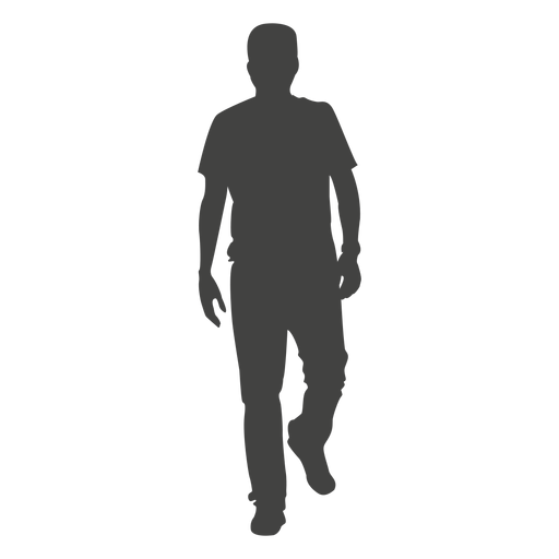 PNG Silhouette Man - 87364