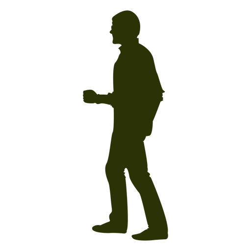 PNG Silhouette Man - 87360