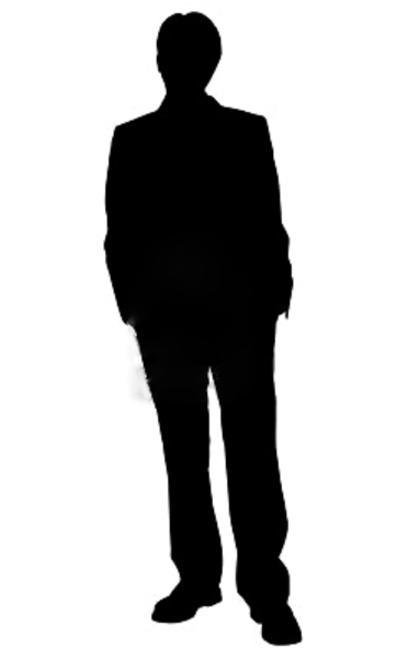 PNG Silhouette Man - 87363