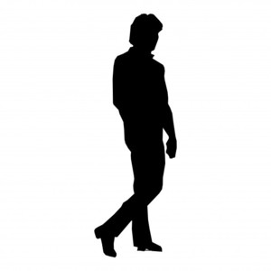 PNG Silhouette Man - 87369