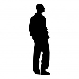 PNG Silhouette Man - 87372