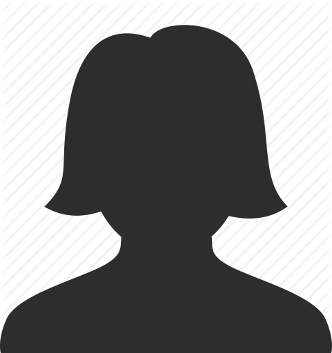 face, female, head, person, profile, silhouette, user, woman icon - PNG Silhouette Woman Head