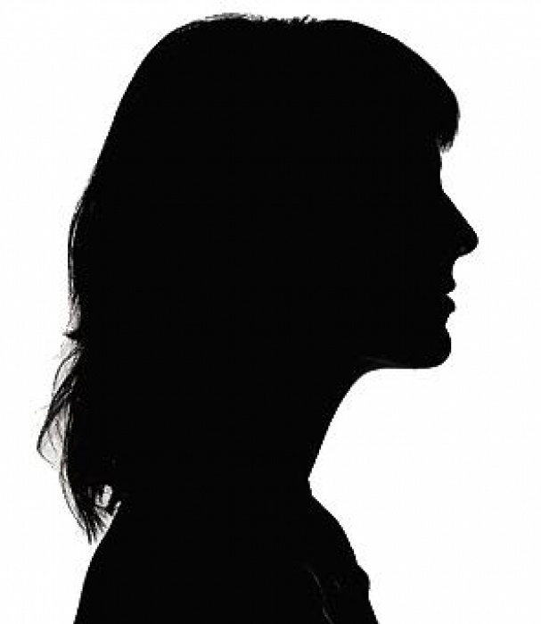 PNG Silhouette Woman Head - 87333