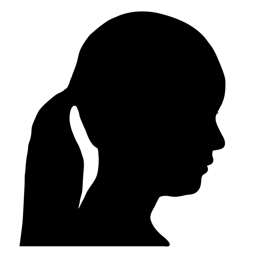 Search results for Female Head Silhouette Images | imagebasket pluspng.com - PNG Silhouette Woman Head