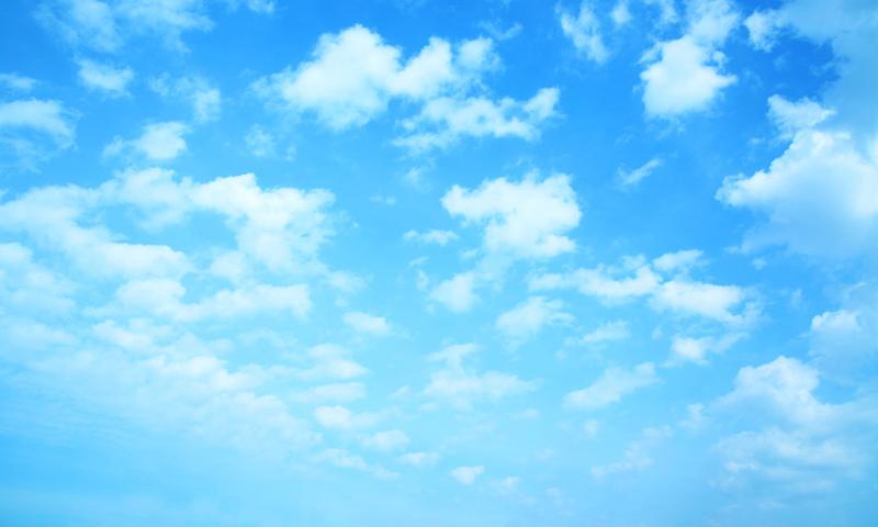 Blue sky background - PNG Sky Background