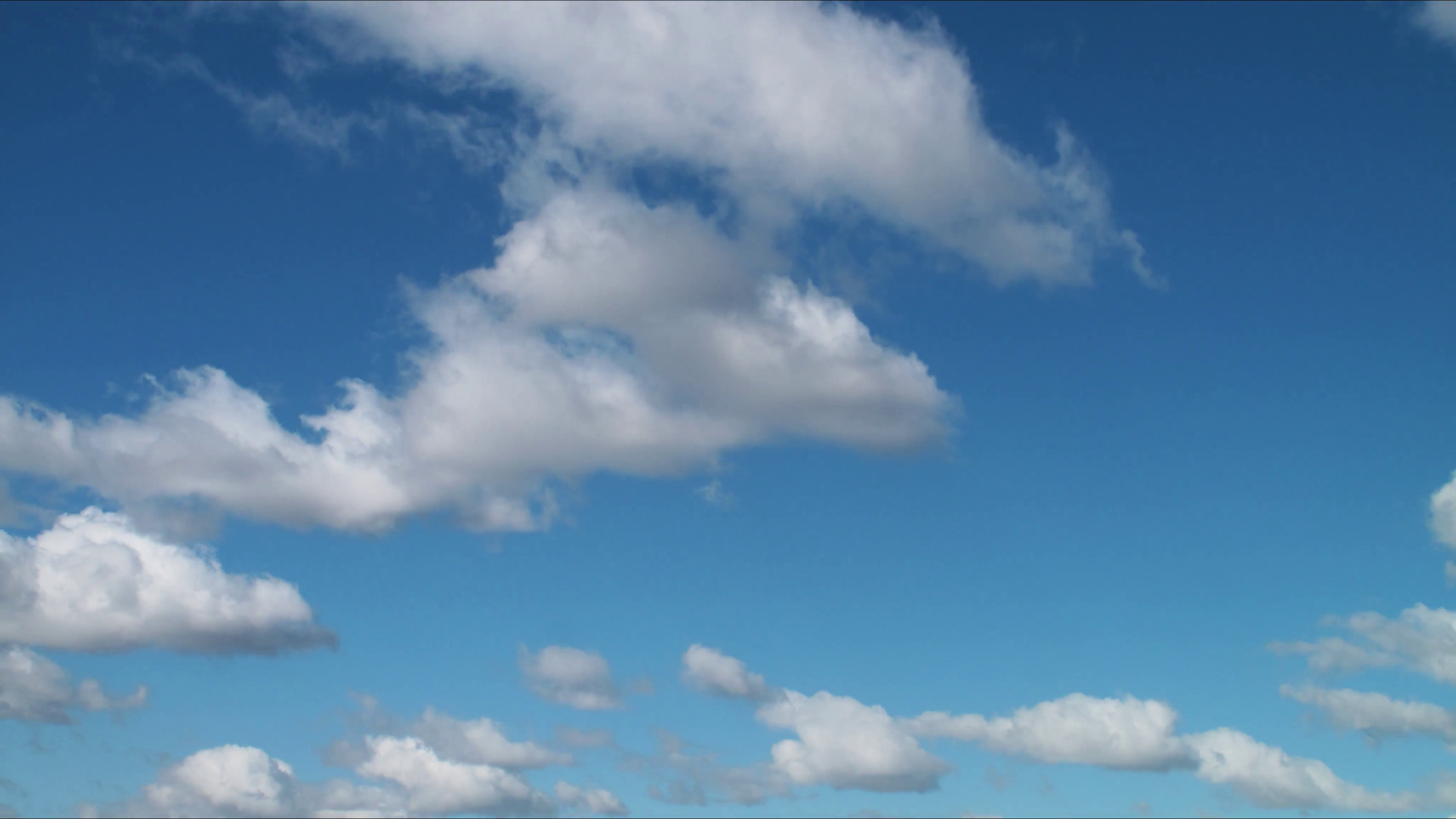 White clouds moving over blue sky background. 4K UHD timelapse. Stock Video  Footage - VideoBlocks - PNG Sky Background
