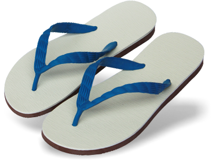 Beach Sandal PNG File - PNG Slippers
