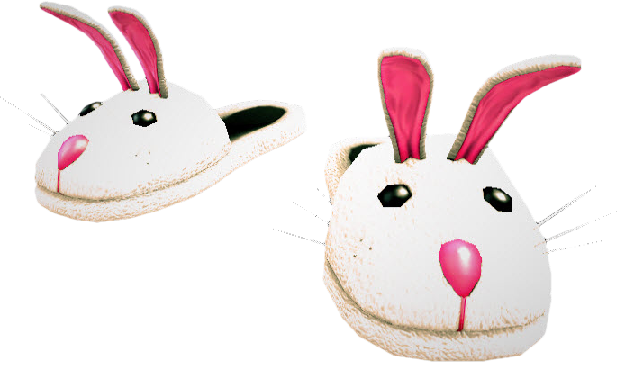 Image - Dead rising Bunny Slippers.png | Dead Rising Wiki | FANDOM powered  by Wikia - PNG Slippers