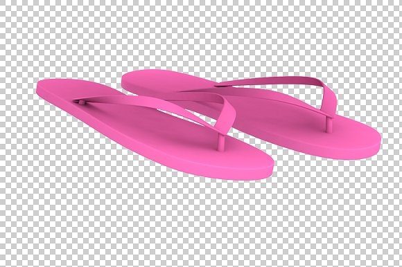 Slippers - 3D Render PNG - Graphics - PNG Slippers