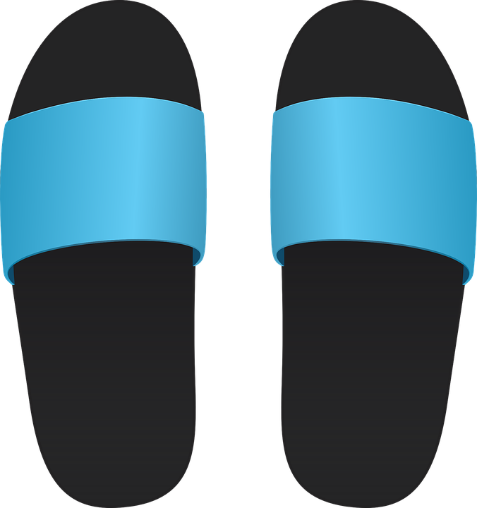 Slippers, Shoes, Rubber Slippers, Toilet - PNG Slippers