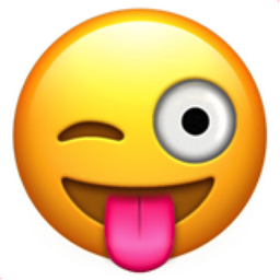 PNG Smiley Face With Tongue Out - 84497