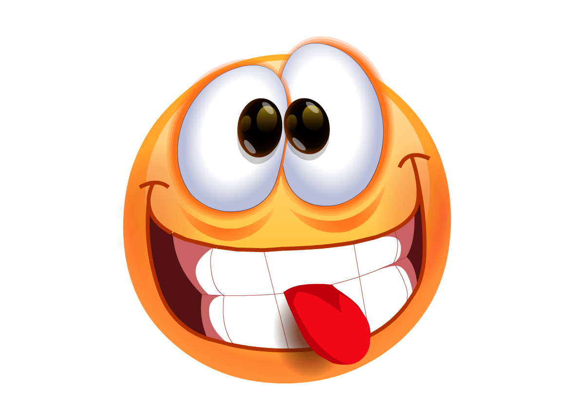 PNG Smiley Face With Tongue Out - 84495