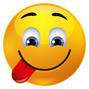 PNG Smiley Face With Tongue Out - 84501