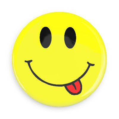 PNG Smiley Face With Tongue Out - 84498