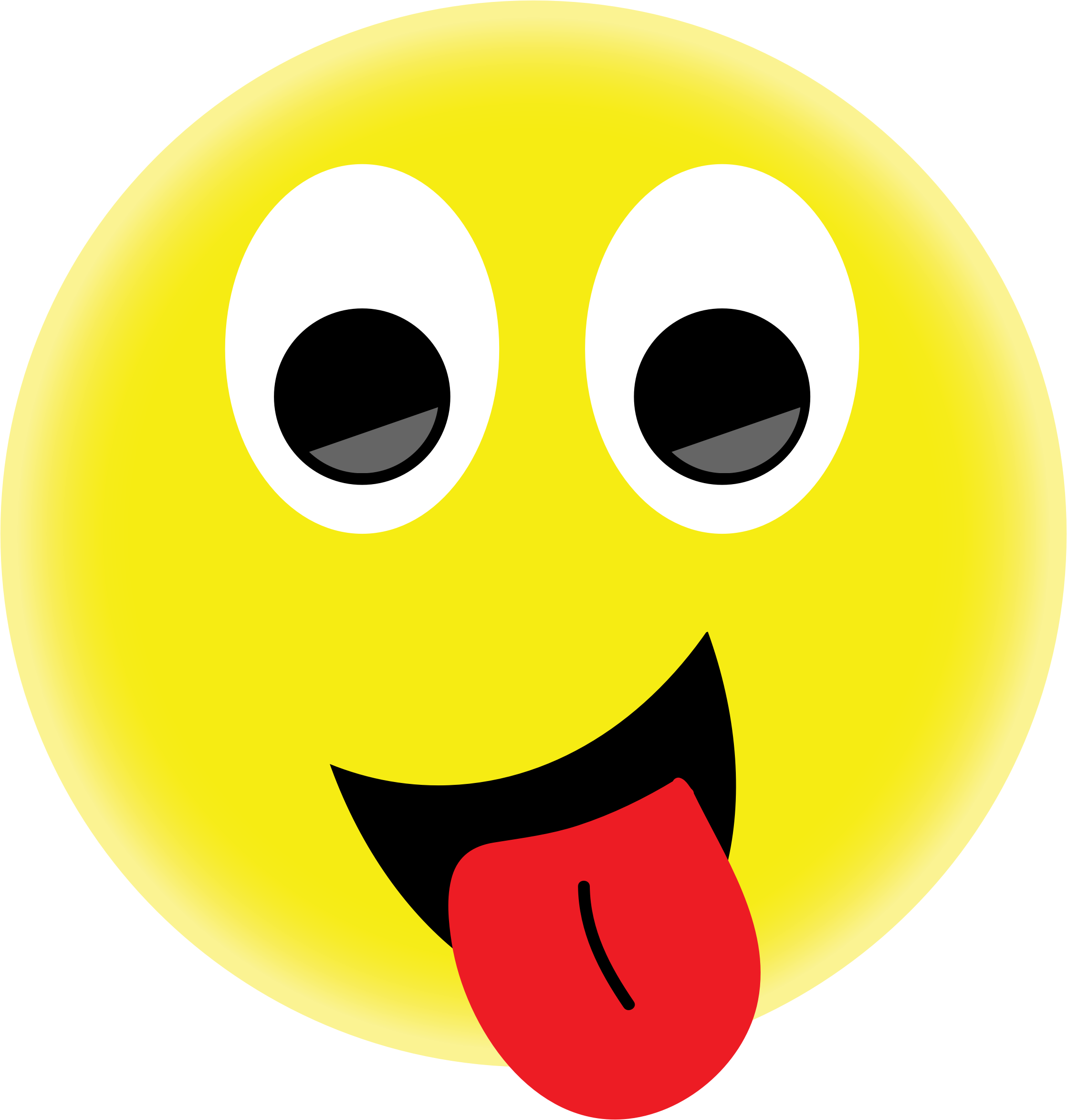 PNG Smiley Face With Tongue Out - 84493