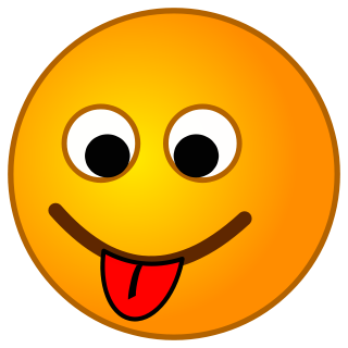 PNG Smiley Face With Tongue Out - 84494