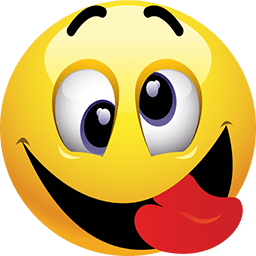 PNG Smiley Face With Tongue Out - 84506